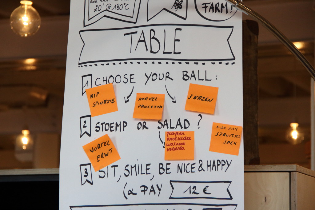 Balls and glory menu
