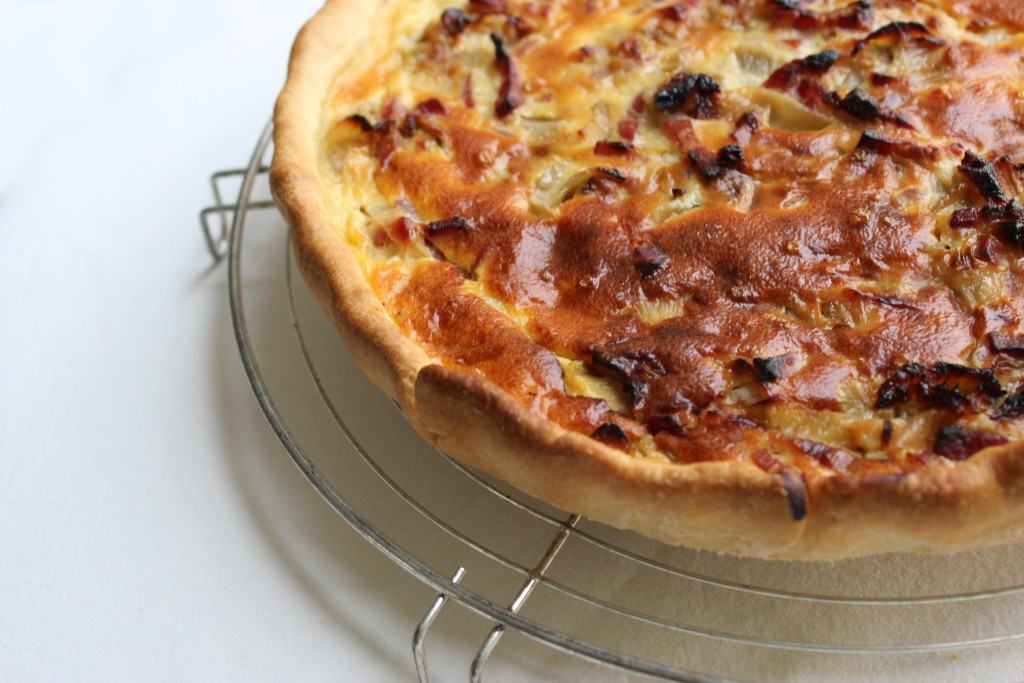Quiche spek witloof