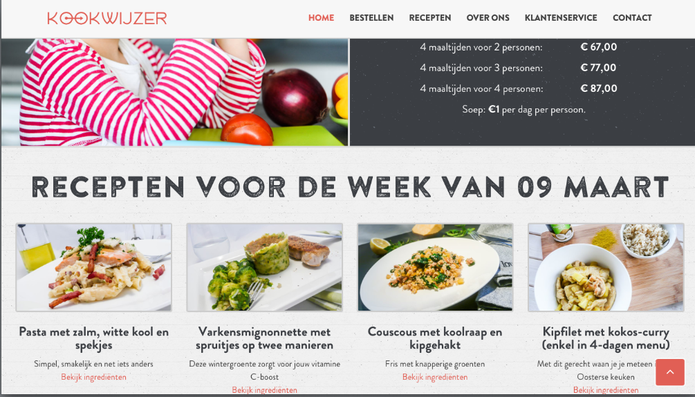 Website Kookwijzer